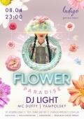 «Flower Paradise» в клубе «Indigo»