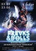 Вечеринка «Freaks & Dools» в клубе «Indigo»
