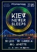 Концерт «Kiev never sleeps» в «Forsage»