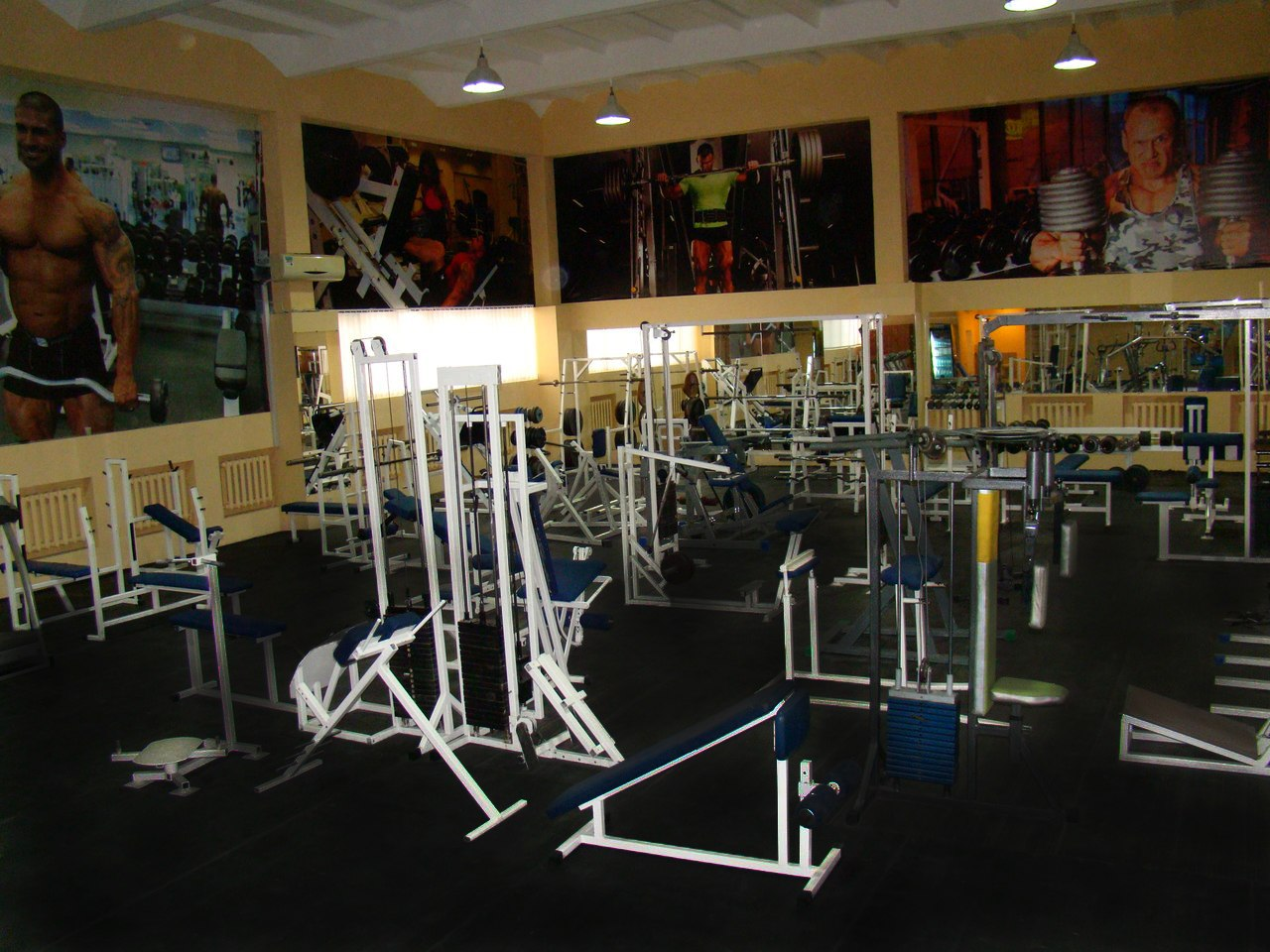 Сеть спортклубов «Фитнес-сити»