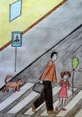 Патрульна поліція Дніпра оголошує конкурс дитячого малюнку