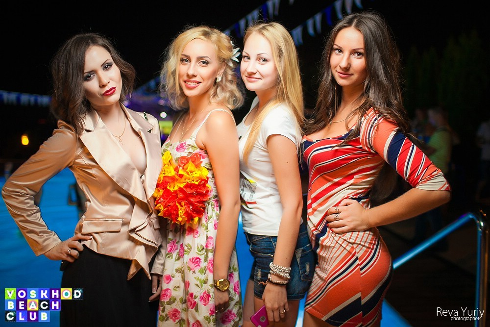 Hawall Pool Party  в Voskhod Beach Club