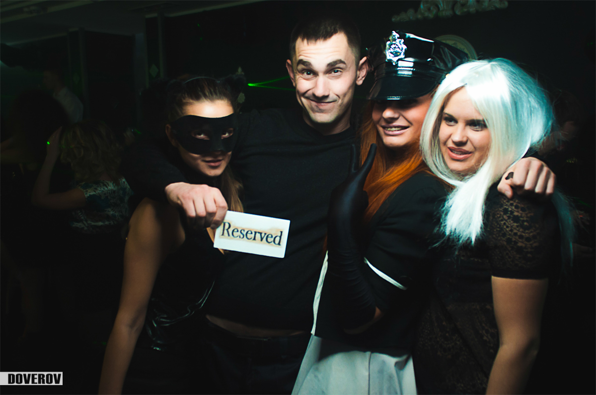 Halloween в Franklin club