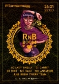 Вечеринка «RnB BooM» в Forsage