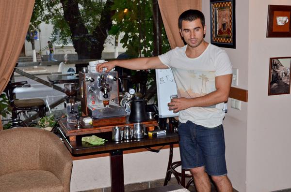 25 Июля прошел мастер-класс по приготовлению кофе в Confetti на Гагарина, 24!