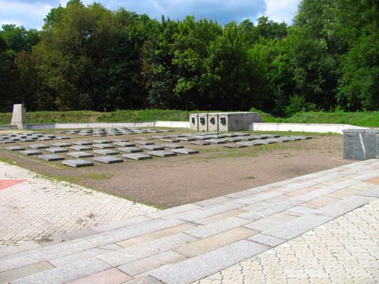 40-летия освобождения Днепропетровска парк — воинское кладбище