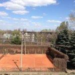 Теннисный корт в парке Шевченко