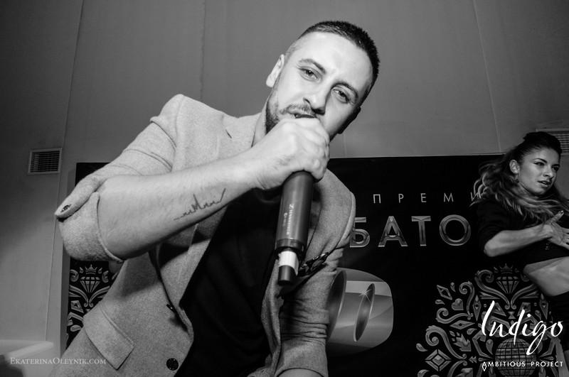 Вручении анти-премии «Золотой батон» в клубе Indigo