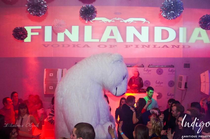 Iceberg party в клубе Indigo