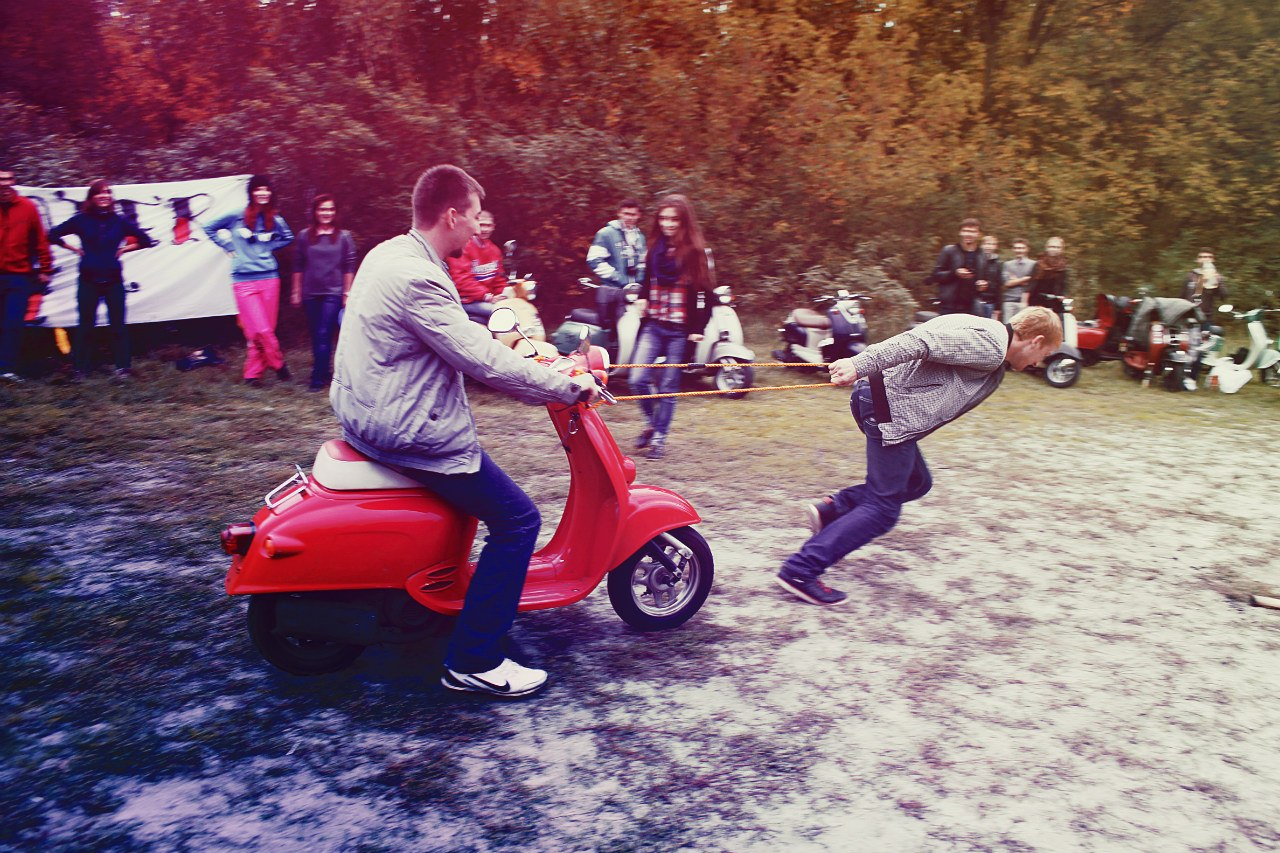 Retro Scooter Party 2