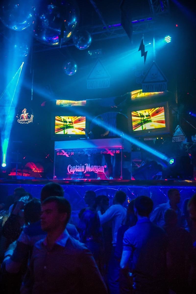 «Party Hard Worldwide» в клубе «Saxon»