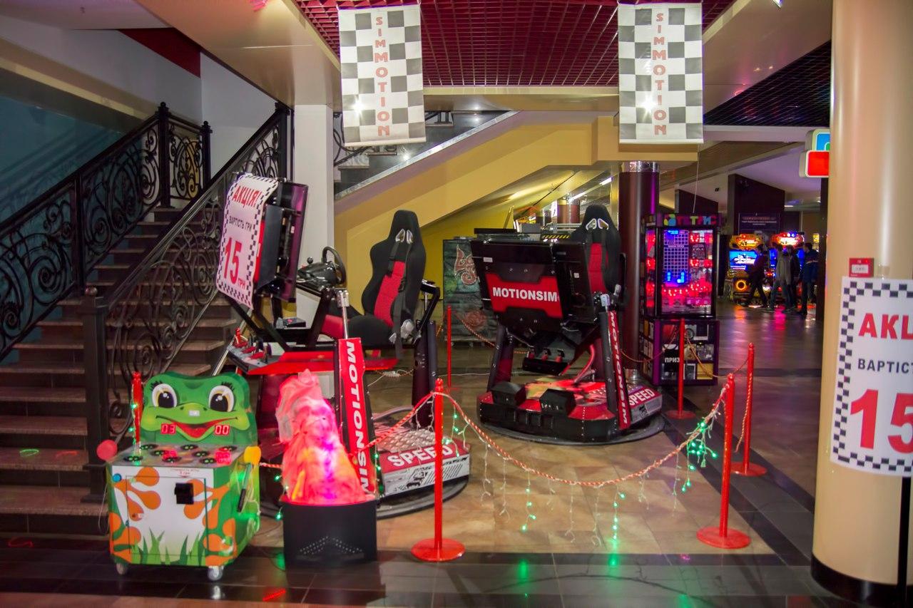 ТРК Боянівка «Панорама» 12D кінотеатр та розважальні автомати «Забава»