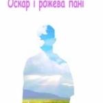 Ерік-Емануель Шмітт — «Оскар і рожева пані»