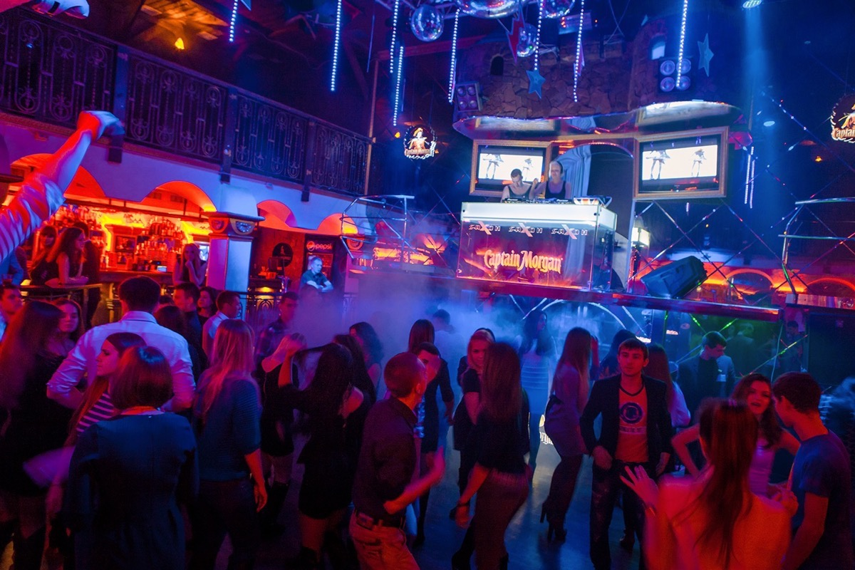 В отрыв в клубе «Saxon»