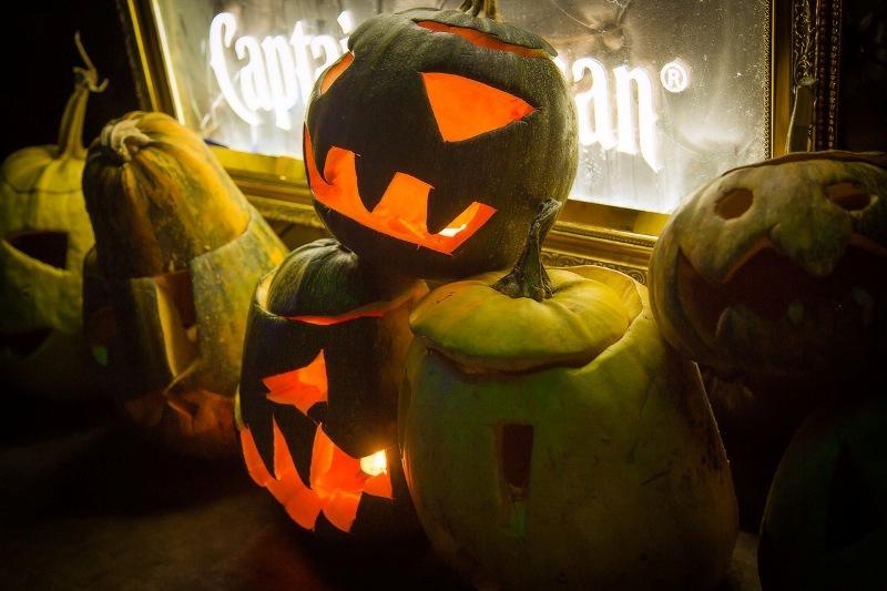 Хеллоуин в клубе «Saxon»