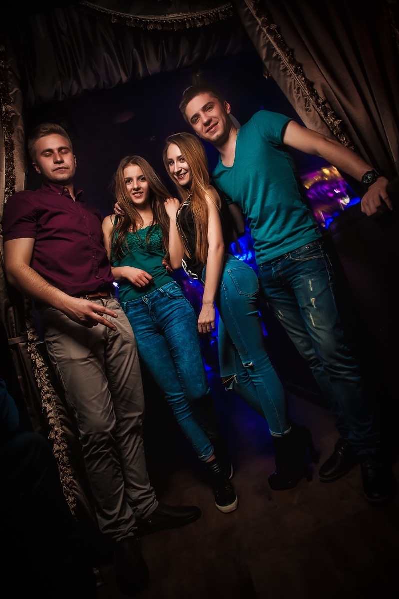 «Неудержимые Купидоны» в клубе «Saxon»
